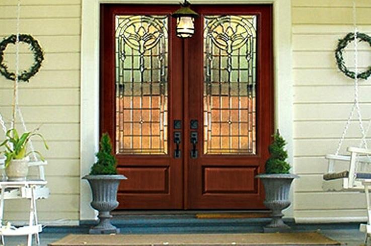 Wood And Fibergl Doors For Homes