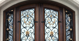 Wrought Iron Doors From Bell Stained Glass: The Advantages And Specs